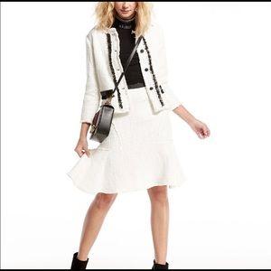 Dresses & Skirts - NWT, Nanette Lepore Boucle' Flounce skirt